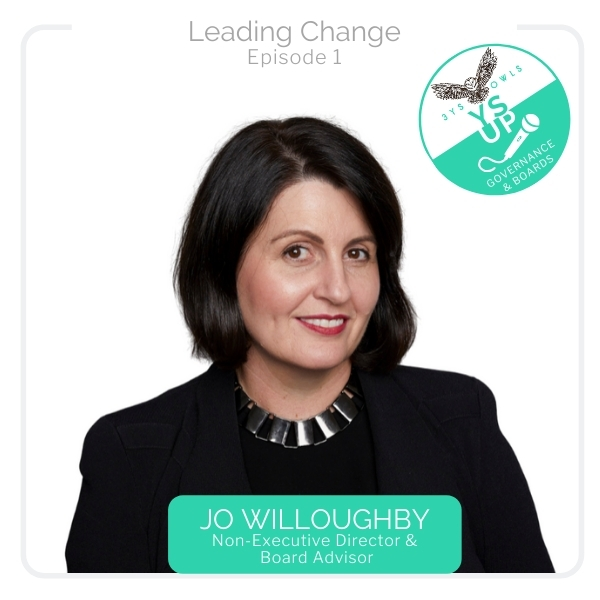 Leading through change with Jo Willoughby
