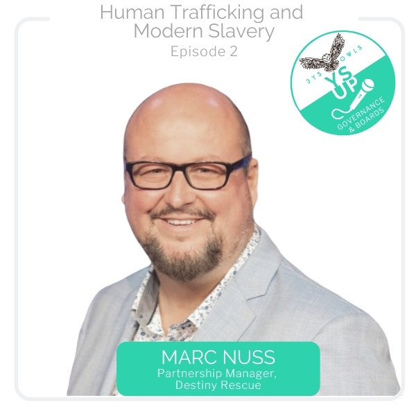Human Trafficking & Modern Slavery with Marc Nuss, Destiny Rescue
