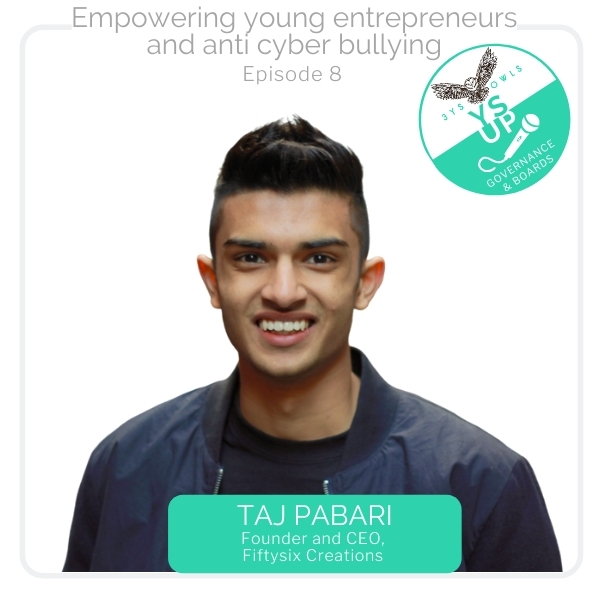 Empowering Young Entrepreneurs, Cyber Bullying | Taj Pabari Fiftysix Creations
