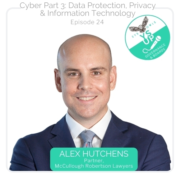 Cyber Part 3-Data Protection, Privacy &  Information Technology | Alex Hutchens