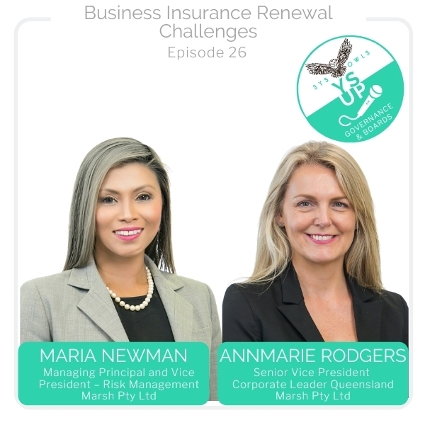 Business Insurance Renewal Challenges | Maria Newman & AnnMarie Rodgers, Marsh