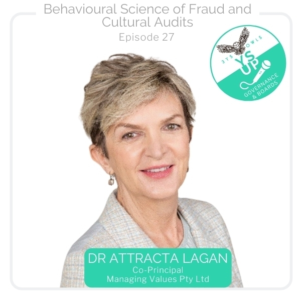 Behavioural Science of Fraud and Cultural Audits with Dr Attracta Lagan