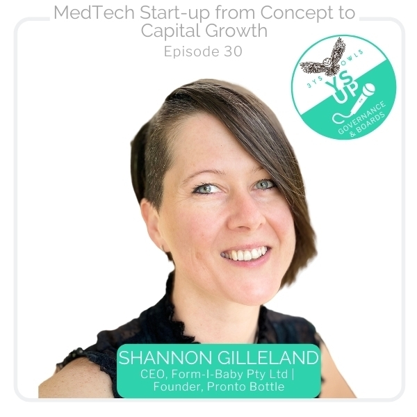 Med Tech Start-up from Concept to Capital Growth with Shannon Gilleland