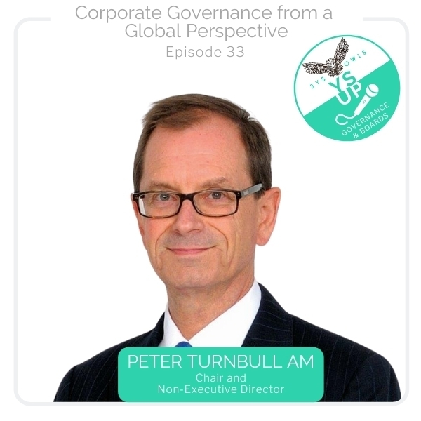 Corporate Governance from a Global Perspective with Peter Turnbull AM